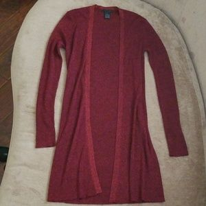 THE LIMITED long sweater jacket